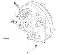 ACCOUPLEMENTS FONTE 31.75 mm