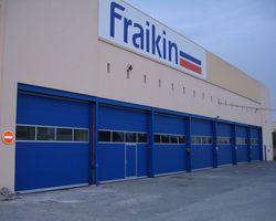 Portes sectionnelles industrielles - Coremid - Aix-en-Provence